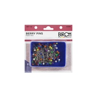 Berry Pins Plastic Head Box of 100
